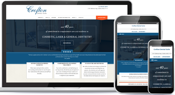 Crofton Dental Suite Website