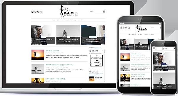 Paging Dr. DAME Blog Design