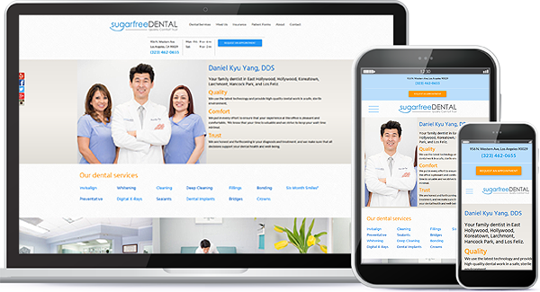 Sugarfree Dental Website