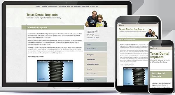 Texas Dental Implants Website