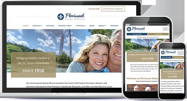 Florissant Dental Services Website