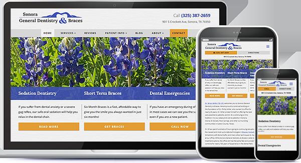 Sonora General Dentistry & Braces Website