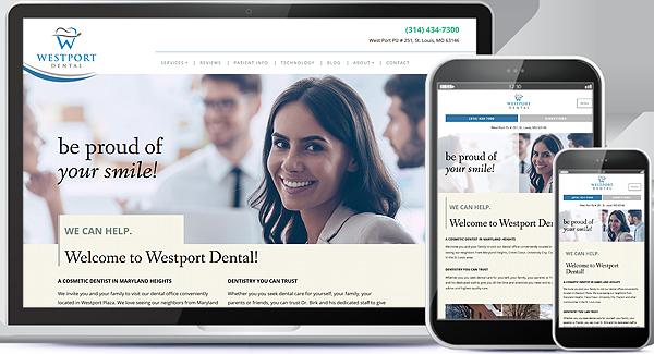 Westport Dental Website