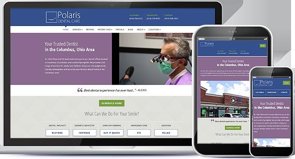 Polaris Dental Care Website