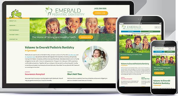 Emerald Pediatric Dentistry Website