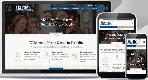 Hartle Dental Website