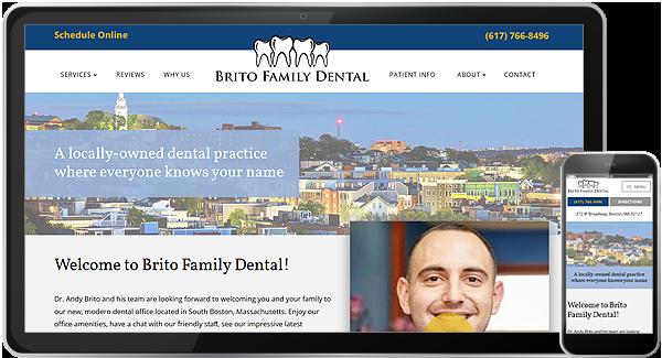 Brito Family Dental Website