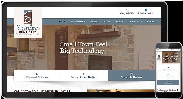 Seamless Dentistry Web Design