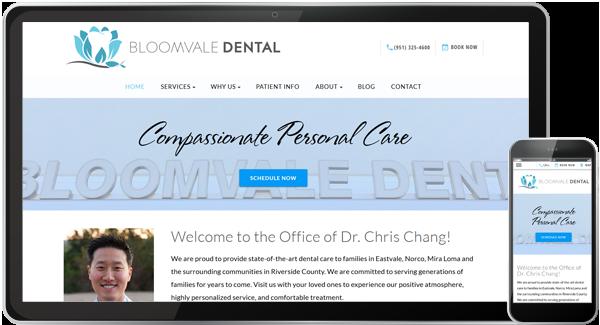 Bloomvale Dental Website
