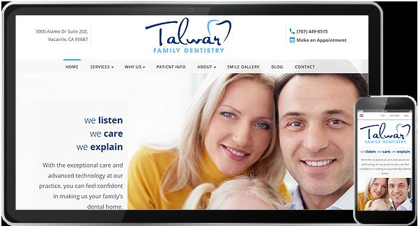 Talwar Family Dentistry Website
