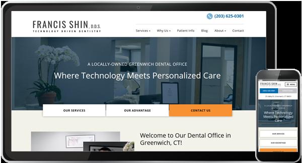 Francis Shin DDS Website