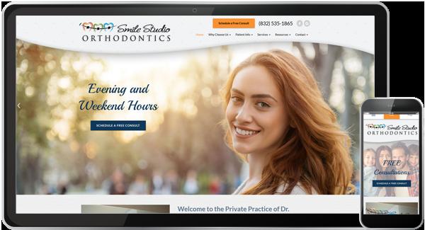 Smile Studio Orthodontics Website