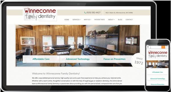 Winneconne Family Dentistry Website