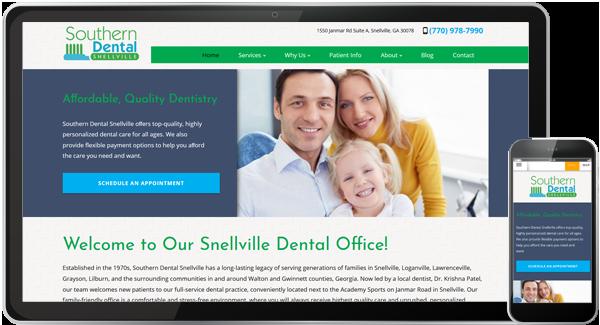 Southern Dental Snellville Website