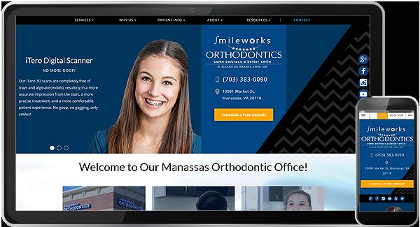Smileworks Orthodontics Website