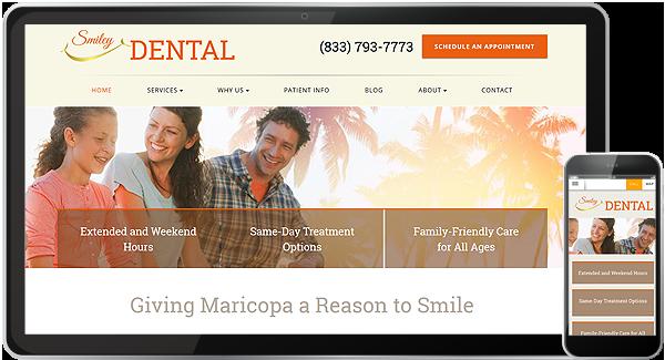 Smiley Dental Website