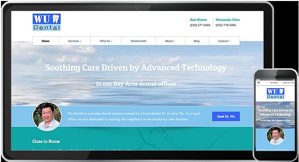 Wu Dental Website