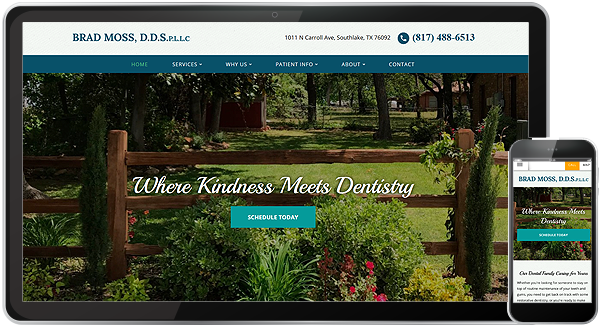 Brad Moss DDS Website