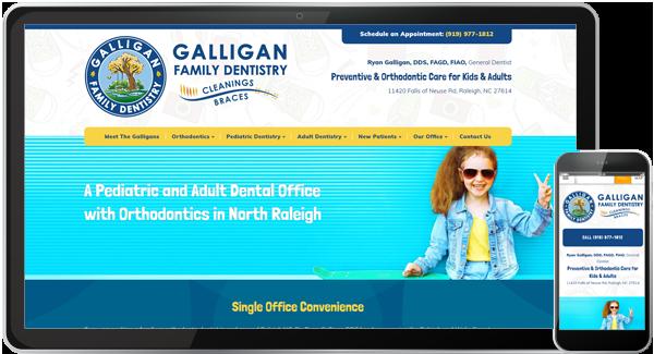 Galligan Family Dentistry Website
