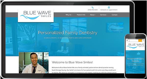 Blue Wave Smiles Website