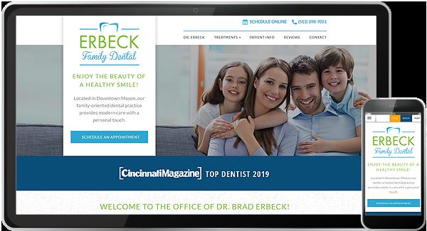Erbeck Family Dental Website
