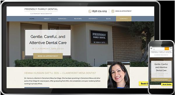 Website Design Portfolio | Web Design for Dentists