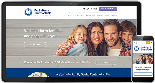 Family Dental Center of Hutto Website