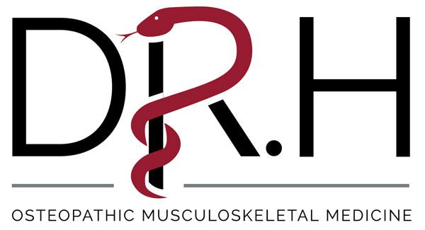 Dr. Hennenhoefer Osteopathic Musculoskeletal Medicine Logo Design