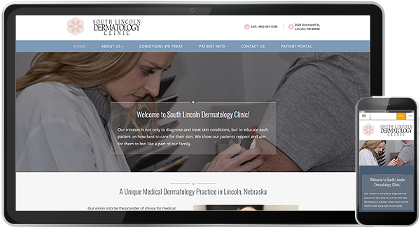 Doctors | Web Design for Dentists & Physicians | Nina