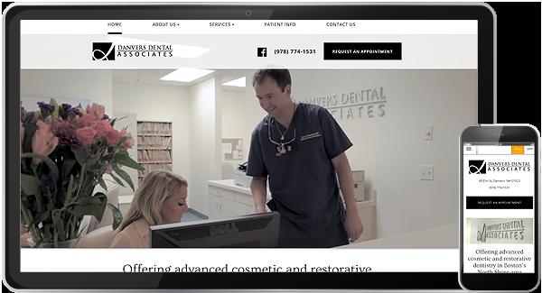 Danvers Dental Associates Website