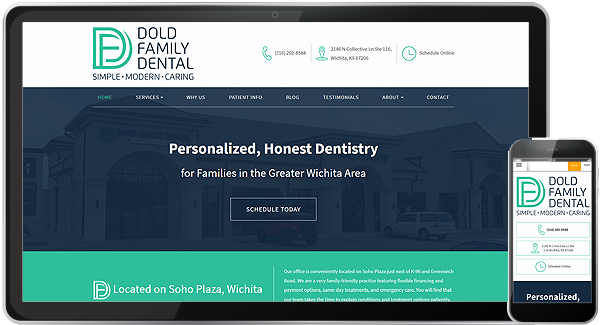 Dold Family Dental Website