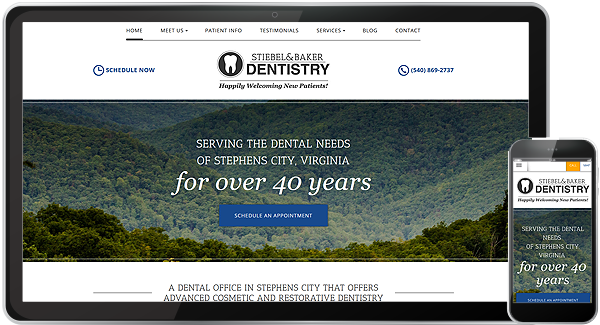Website Design Portfolio | Web Design for Dentists & Physicians