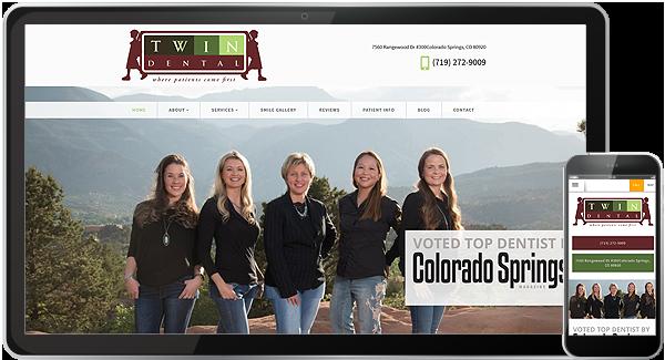 Twin Dental Website