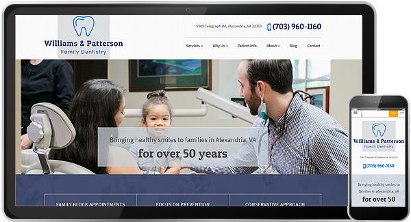 Williams & Patterson Family Dentistry Website