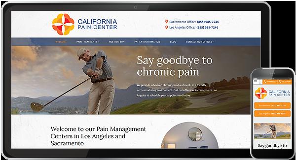 California Pain Center Website