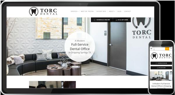 TORC Dental Website
