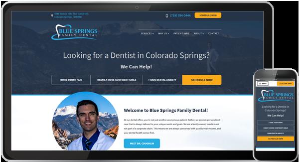 Blue Springs Family Dental Website