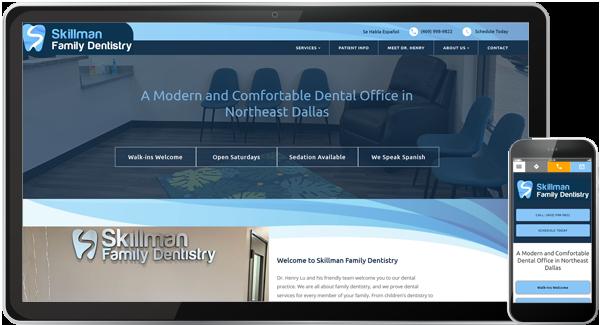 Skillman Family Dentistry Website