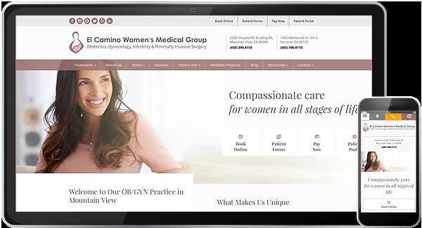 El Camino Women's Medical Group Website