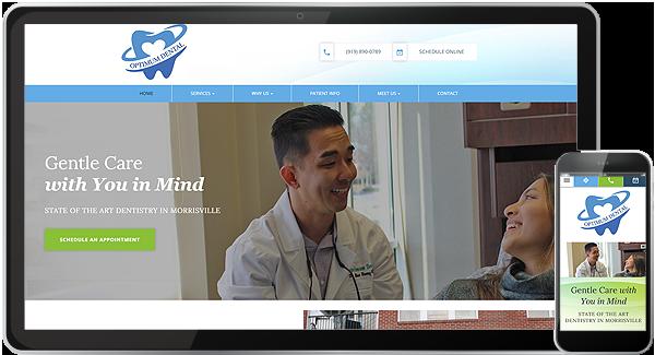 Optimum Dental Website