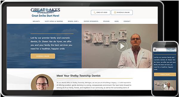 Great Lakes Dentistry Website