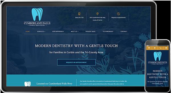 Cumberland Falls Family Dentistry Website