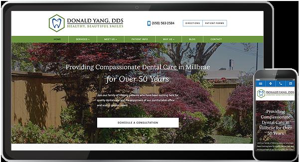 Donald Yang DDS Website