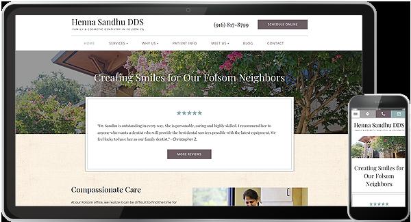 Henna Sandhu DDS Website
