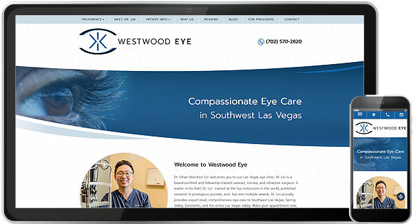Westwood Eye Website