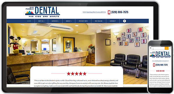 Old Pueblo Dental Website