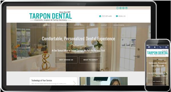Tarpon Dental Website