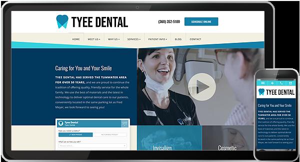Tyee Dental Website