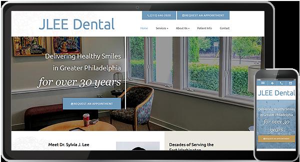 JLEE Dental Website