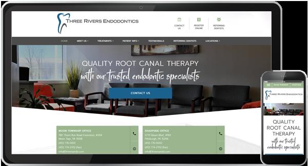 Three Rivers Endodontics Website
